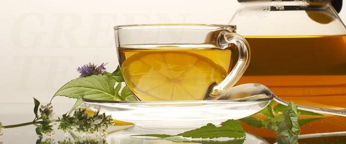 Чай ароматизированный зелёный
